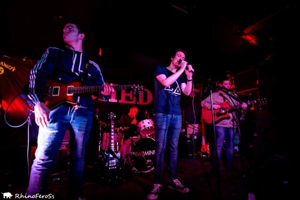 Aztec Templates at The Shed, 7th March 2015 Photo RhinoFeroSs photography